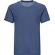 super.natural Base V Neck Tee 140 Men Dark Avio